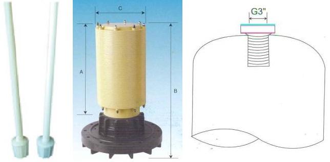 Верхний дистрибьютор с щелевой фильерой
